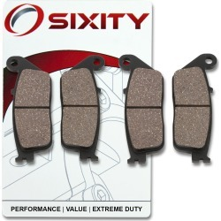 Sixity Front Organic Brake Pads 1995 Honda ST1100 ABS A found on Bargain Bro India from Sixity for $14.78