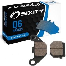 Sixity Rear Organic Brake Pads 2006-2009 E-TON Vector 250R VXL ST Quad