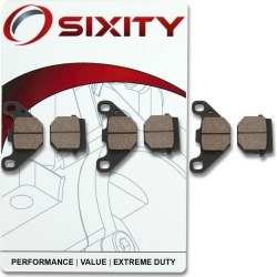 Sixity Front + Rear Ceramic Brake Pads 2005-2009 Polaris Phoenix 200 found on Bargain Bro Philippines from Sixity for $37.23