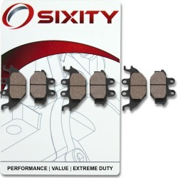 Sixity Front + Rear Organic Brake Pads 2007-2008 TGB Outback 425 Camo Edition found on Bargain Bro Philippines from Sixity for $14.91