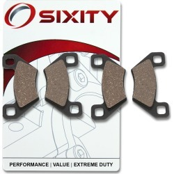 Sixity Front Ceramic Brake Pads 2012 KYMCO MXU375 4x4 IRS found on Bargain Bro Philippines from Sixity for $36.49