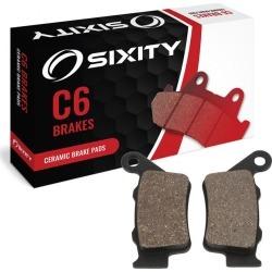Sixity Rear Ceramic Brake Pads 2003 Husqvarna TC450 48mm Marzocchi Forks