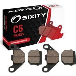 Sixity Front Ceramic Brake Pads 2006-2009 E-TON Vector 250R VXL ST Quad