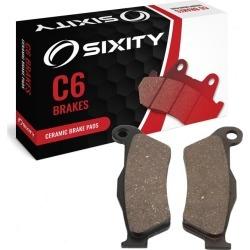 Sixity Front Ceramic Brake Pads 2010 KTM 530 XC-W 4T Six Days
