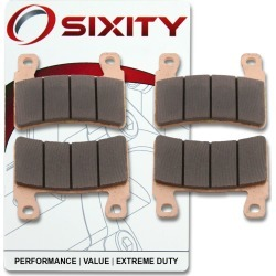 Sixity Front Sintered Brake Pads 2000-2006 Honda RVT1000R RC51 found on Bargain Bro Philippines from Sixity for $15.44