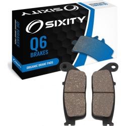 Sixity Rear Organic Brake Pads 2009-2012 Victory Vegas Jackpot