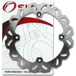Sixity Rotor MD6346 Rear Replacement Kit