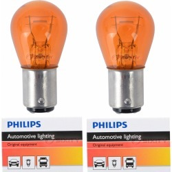 Philips Standard Mini Amber Front Turn Signal Light Bulb for Harley Davidson FLTRXSE CVO Road Glide found on Bargain Bro Philippines from Sixity for $7.55