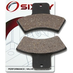 Sixity Rear Ceramic Brake Pads 2000 Polaris Magnum 325 4x4 found on Bargain Bro Philippines from Sixity for $7.46