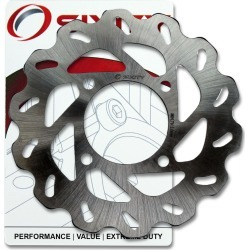 Sixity Rotor MD6219 Rear Replacement Kit