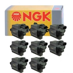 8 pcs NGK Ignition Coil for 1999-2004 GMC Sierra 2500 6.0L 5.3L V8 found on Bargain Bro from Sixity Auto for USD $226.32