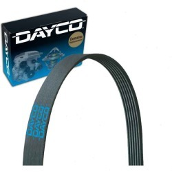Dayco Fan Alternator Serpentine Belt for 1985-1987 Chevrolet El Camino 4.3L 5.0L V6 V8 found on Bargain Bro Philippines from Sixity Auto for $23.42