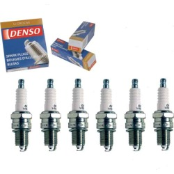 6 pc DENSO Standard U-Groove Spark Plugs for 1971-1974 BMW 3.0CSi 3.0L L6 found on Bargain Bro India from Sixity Auto for $15.74