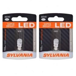 Sylvania ZEVO - Two 1 Packs - 2825LED LED Bulb Dome License Map Trunk Cargo