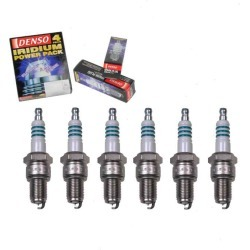 6 pc DENSO Iridium Power Spark Plugs for 1971-1974 Dodge B300 Van 3.7L L6 found on Bargain Bro India from Sixity Auto for $39.84