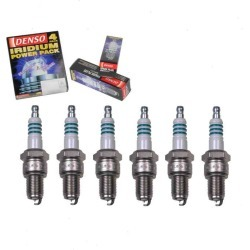 6 pc DENSO Iridium Power Spark Plugs for 2000 Chrysler Voyager 3.0L 3.3L V6 found on Bargain Bro India from Sixity Auto for $39.84