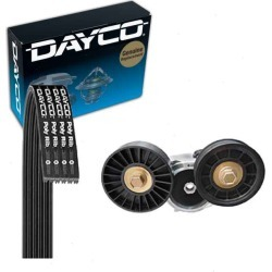 Dayco Main Drive Serpentine Belt Drive Component Kit for 2004-2007 Dodge Ram 1500 3.7L 4.7L V6 V8 found on Bargain Bro Philippines from Sixity Auto for $81.06