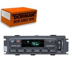 Dorman 599-030 HVAC Control Module found on Bargain Bro India from Sixity Auto for $570.72