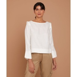 Blusa Kimberly Cor: Off White - Tamanho: PP found on Bargain Bro from Souq Store for USD $215.62