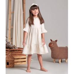 Vestido Lili Cor: Kraft - Tamanho: 6 found on Bargain Bro India from Souq Store for $103.42