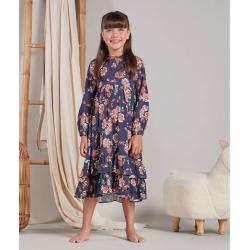 Vestido Vivi Cor: Azul - Tamanho: 6 found on Bargain Bro India from Souq Store for $95.85