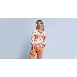 Blusa Alicia Cor: Aveia - Tamanho: 1 found on Bargain Bro from Souq Store for USD $87.33