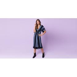 Vestido Califórnia - Western Cor: Azul - Tamanho: 1 found on Bargain Bro India from Souq Store for $107.61