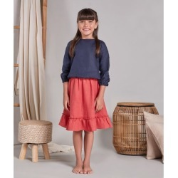 Blusa Pati Infantil Cor: Azul - Tamanho: 6 found on Bargain Bro from Souq Store for USD $61.84