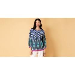 Blusa Tenerife Cor: Azul Marinho - Tamanho: P found on Bargain Bro from Souq Store for USD $50.11