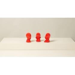 Conjunto Decorativo Buddha Cor: Vermelho - Tamanho: Único found on Bargain Bro India from Souq Store for $51.45