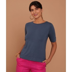 Blusa Dinah June Cor: Azul - Tamanho: PP found on Bargain Bro from Souq Store for USD $92.73