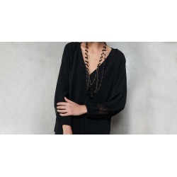 Blusa Adana Cor: Preto - Tamanho: PP found on Bargain Bro from Souq Store for USD $38.59