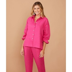 Camisa Mayra Cor: Pink - Tamanho: PP found on Bargain Bro India from Souq Store for $293.51