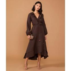 Vestido Blechen Cor: Marrom - Tamanho: P found on Bargain Bro India from Souq Store for $430.71