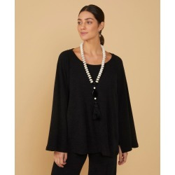 Blusa Marjorie Cor: Preto - Tamanho: PP found on Bargain Bro from Souq Store for USD $122.52