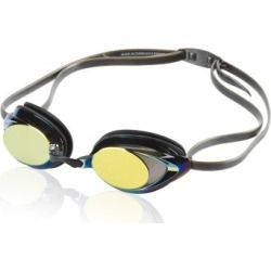 Speedo  Vanquisher 2.0 Mirrored Goggle  Triathlon Gear  : Deep Gold