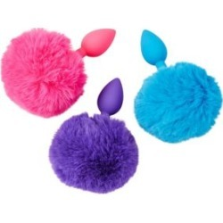 Neon Pink Bunny Tail Butt Plug - 8.25 Inch Sex Toy by Spencer's found on Bargain Bro Philippines from spencers gifts for $17.99