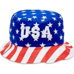 36c725014f0d5 Stars and Stripes USA Bucket Hat by Spencer s found on MODAPINS from spencers  gifts for USD