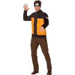Adult Male Naruto Jacket - Size ADULT EX SMALL - by Spencer's