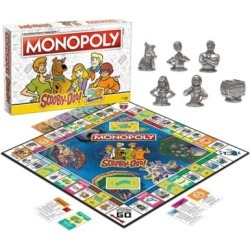 Scooby-Doo Monopoly Board Game by Spencer's