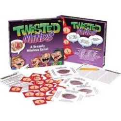 Twisted Minds Adult Party Game by Spencer's