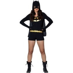 Adult Romper Batman Costume - DC Comics - Size ADULT EX SMALL - by Spencer's found on Bargain Bro Philippines from spencers gifts for $29.99