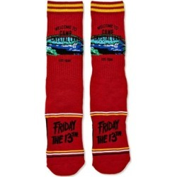Camp Crystal Lake Socks – Friday the 13th - ONE SIZE FITS MOST - by Spencer's