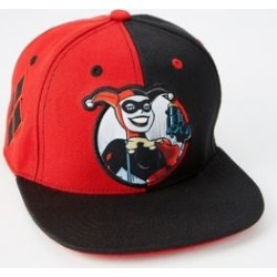 Classic Harley Quinn Snapback Hat - DC Comics by Spencer's