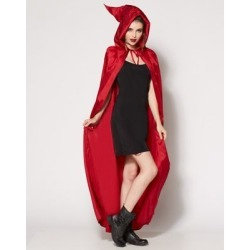 Adult Mary Sanderson Cape - Hocus Pocus - ONE SIZE FITS MOST - by Spencer's