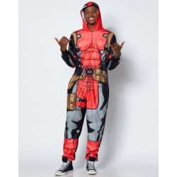 Deadpool Pajama Costume - Marvel - Size Adult Medium - by Spencer's found on Bargain Bro India from spencers gifts for $49.99