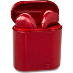 Red Audiopods Wireless Headphones by Spencer's