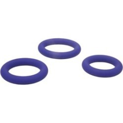 Cock Rings - Color Changing 3 Ring Cock Ring Set Sex Toy by Spencer's