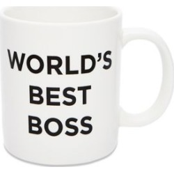 World's Best Boss Coffee Mug - 20 oz. by Spencer's