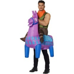 FortniteAdult Giddy Up Inflatable Costume - Fortnite - ONE SIZE FITS MOST - by Spencer's